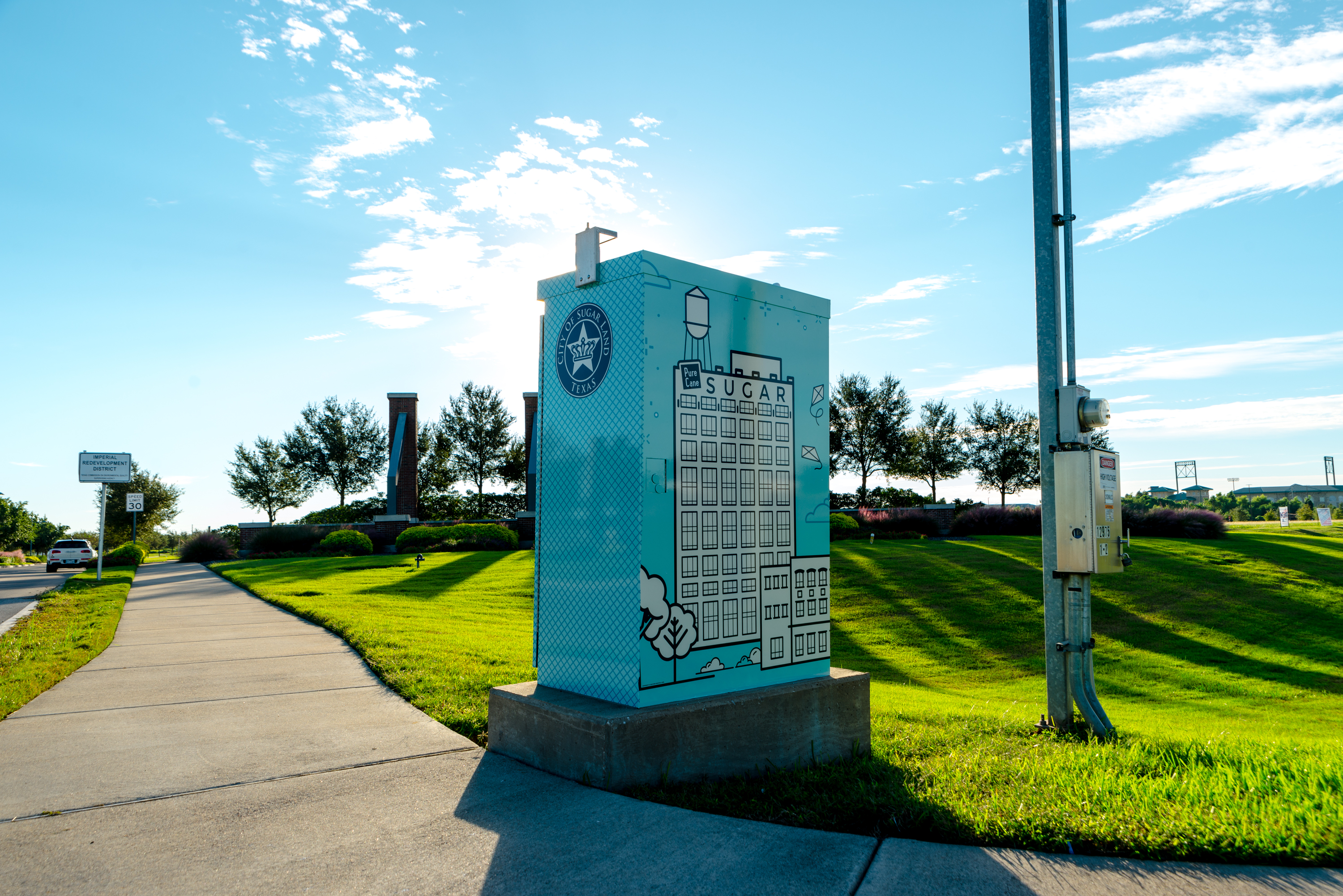 Sugar Land Traffic Box